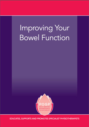 male bowel advice